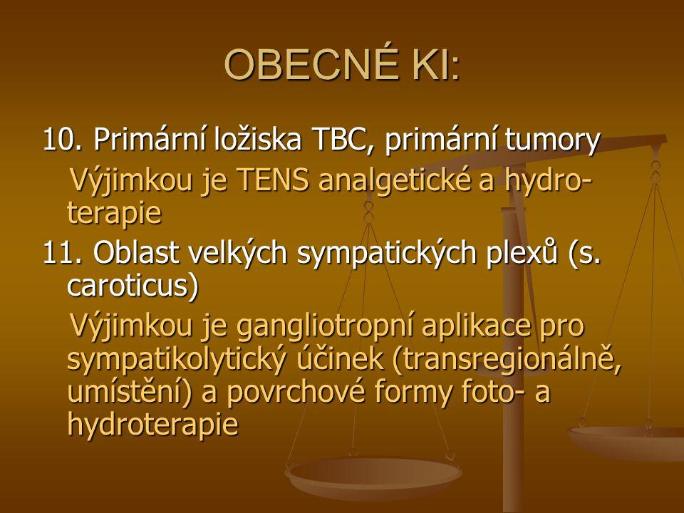 OBECNÉ KI: 12.Manifestní kardiální a respirační insuficience (symetrické otoky, VKT!!.