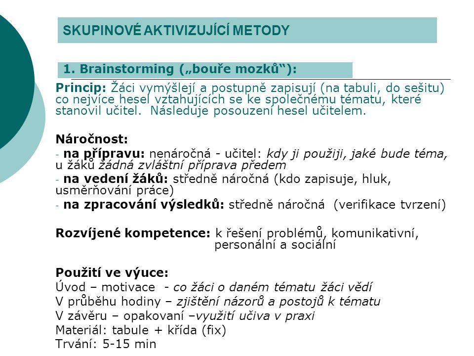 Literatura na toto téma…  MAŇÁK,Josef a ŠVEC, Vlastimil: Výukové metody.