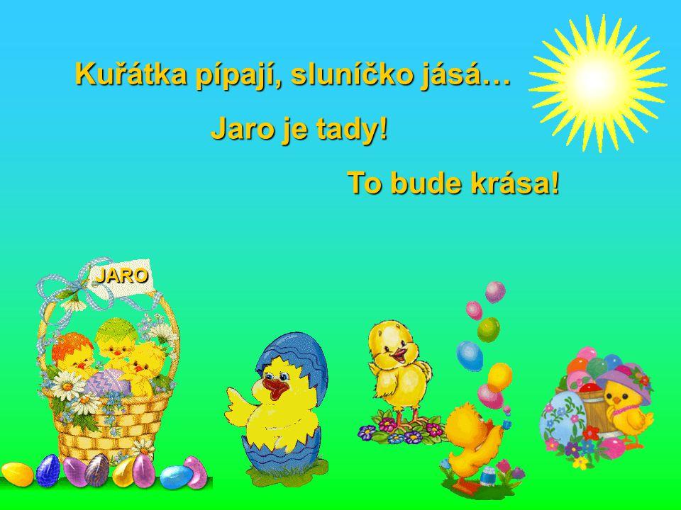 Mám čest být to vajíčko, co přináší Ti přáníčko… Snad potěší Tě maličko…
