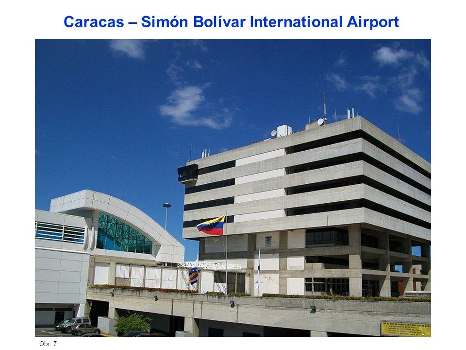 Obr. 7 Caracas – Simón Bolívar International Airport