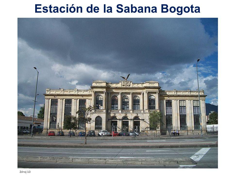 Estación de la Sabana Bogota Zdroj 10