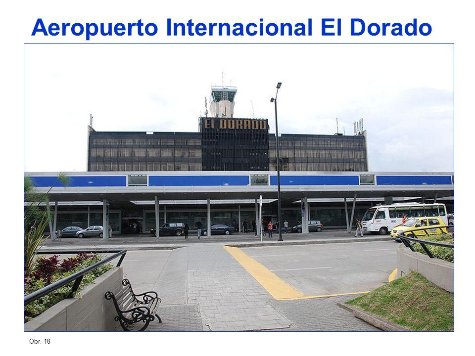Obr. 18 Aeropuerto Internacional El Dorado