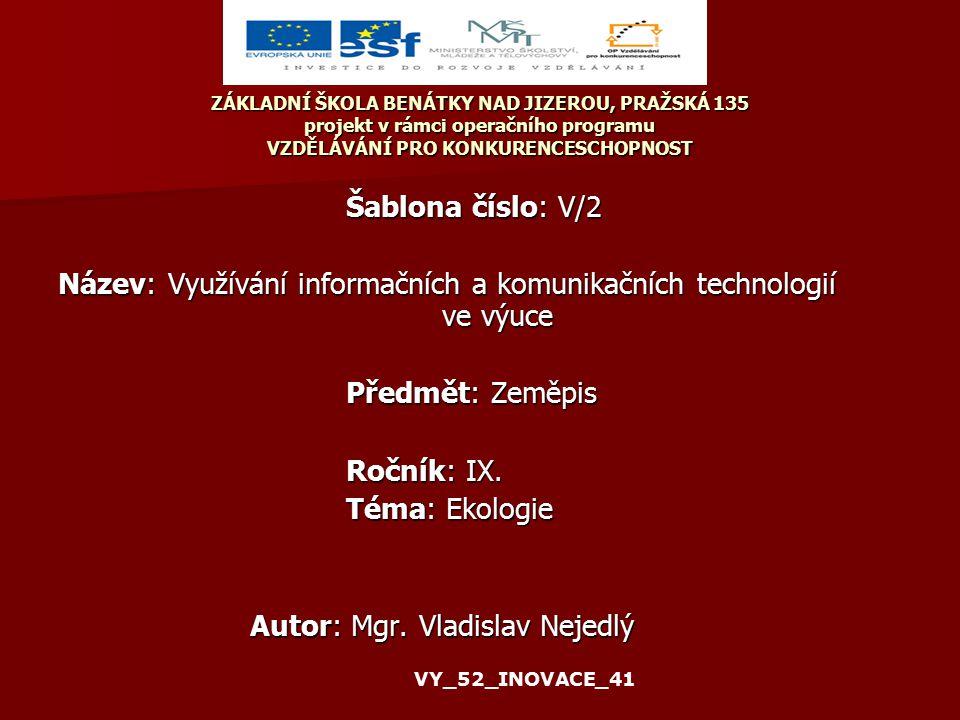 Anotace: PowerPointová prezentace - Krajina Klíčová slova: Krajina, kulturní krajina 05.02.41