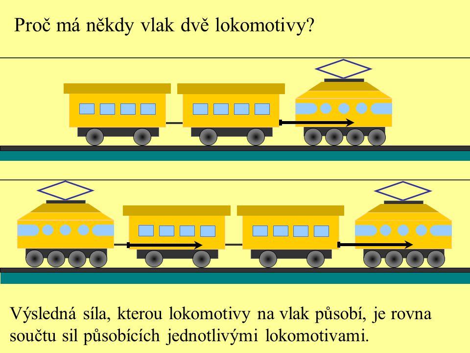 Proč má někdy vlak dvě lokomotivy.