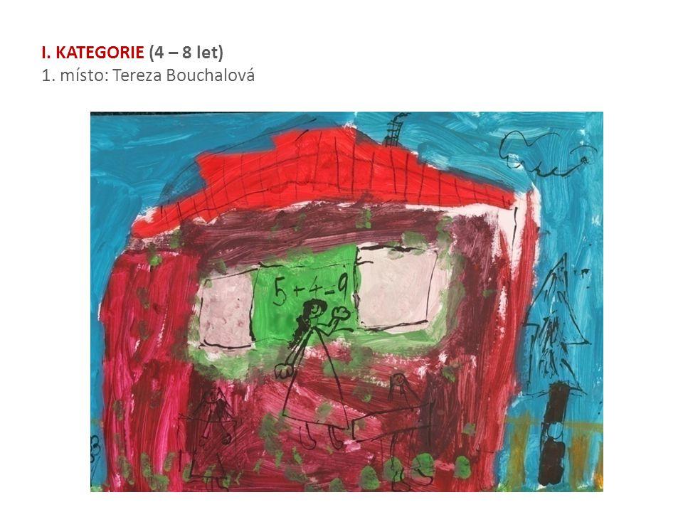 I. KATEGORIE (4 – 8 let) 1. místo: Tereza Bouchalová