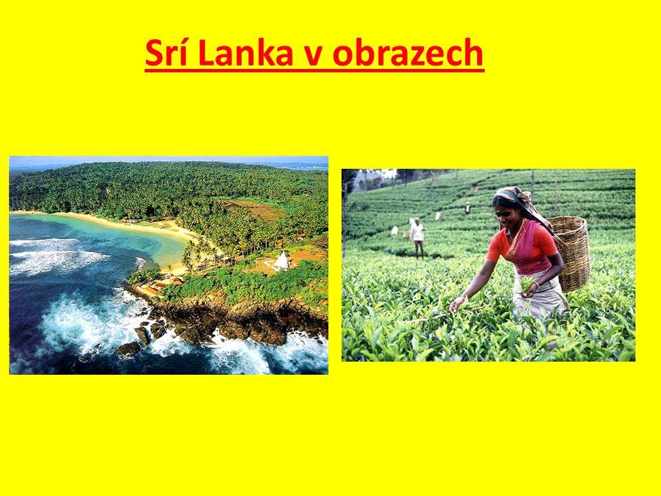 Otázky a úkoly : 1.Kde leží Srí Lanka a jakou má rozlohu.