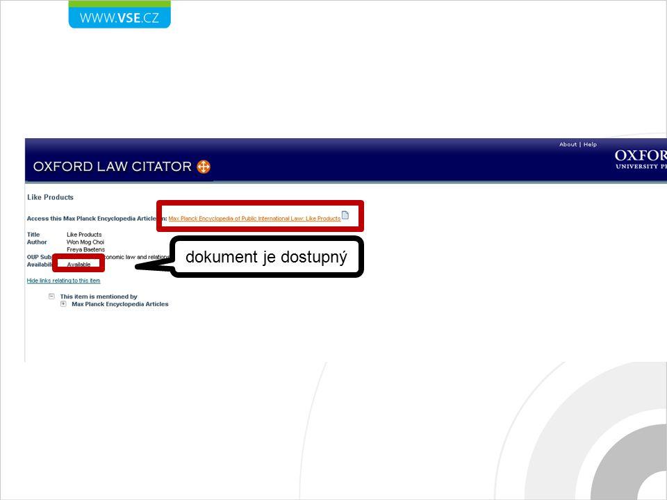 dokument je dostupný