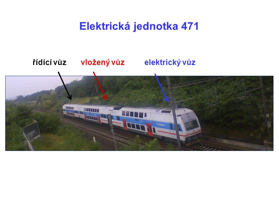 řídící vůzvložený vůzelektrický vůz Elektrická jednotka 471