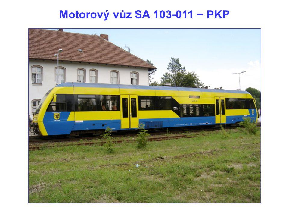 Motorový vůz SA 103-011 − PKP