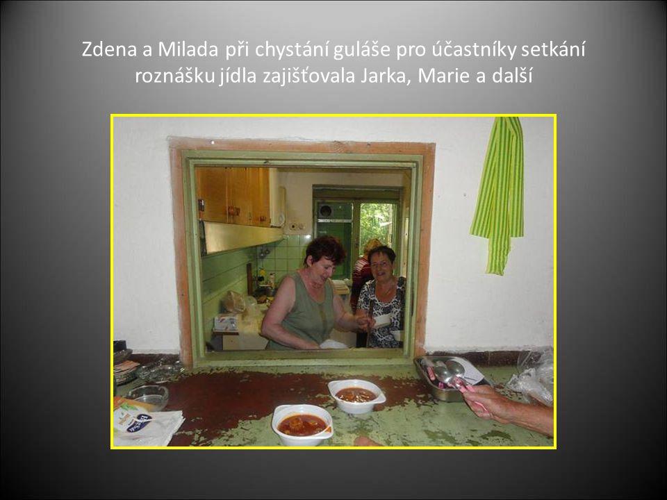 O pitivo se starali Jenda, Josef a Miloš
