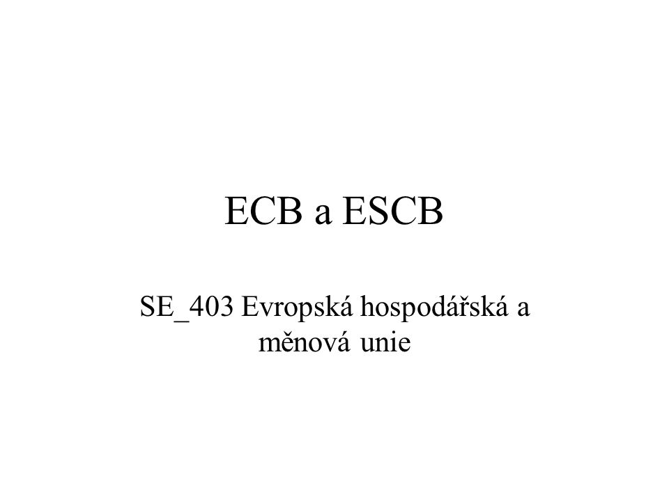 Generální rada ECB