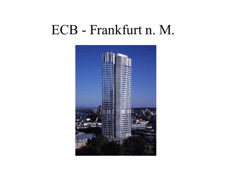 Úkoly ECB Podle Smlouvy o založení Evropského společenství (článek 105 odst.