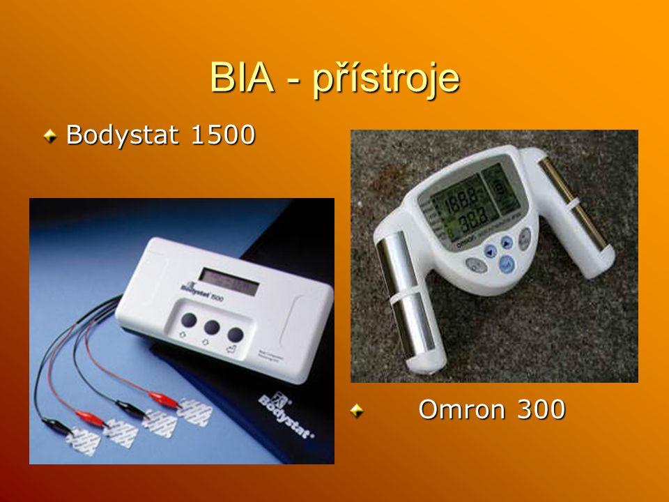 BIA - přístroje Bodystat 1500 Omron 300 Omron 300