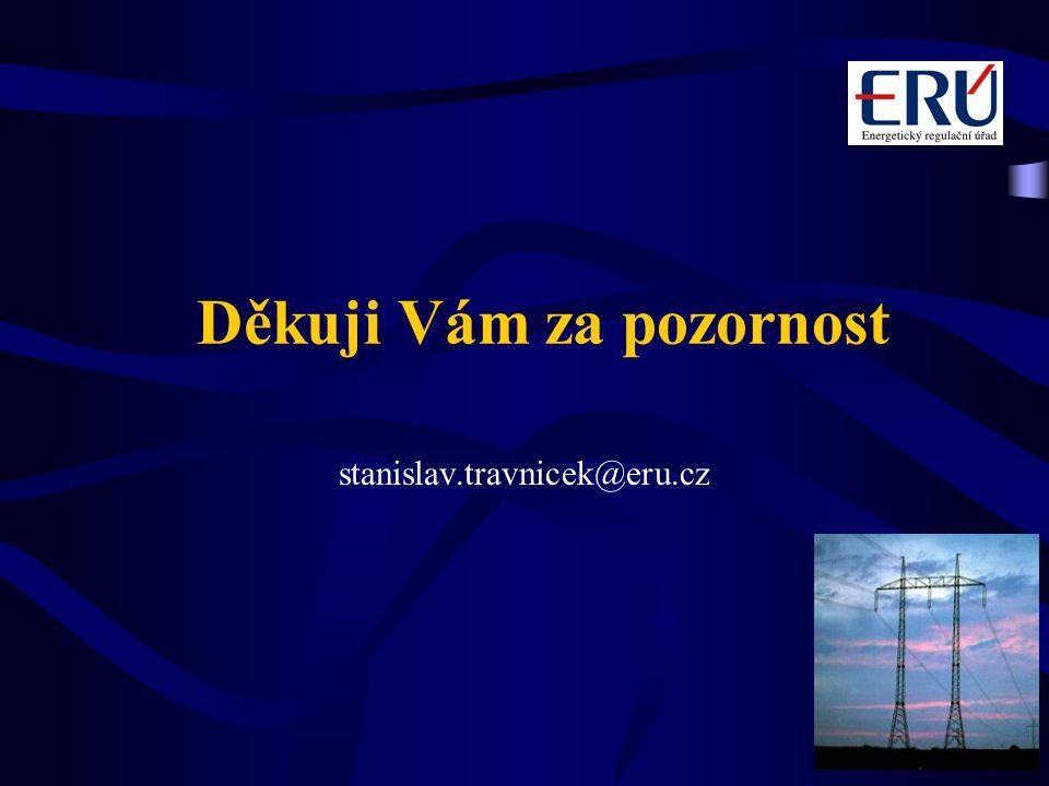 Děkuji Vám za pozornost stanislav.travnicek@eru.cz
