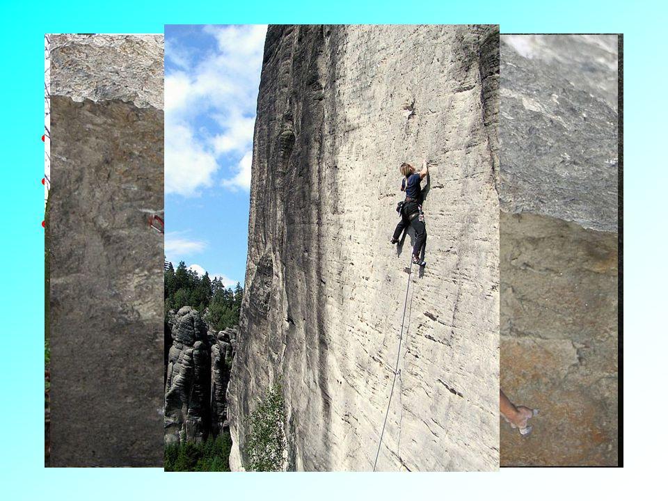 Sportovní pojetí horolezectví Nepískovcové skalní lezení Pískovcové skalní lezení Bouldering
