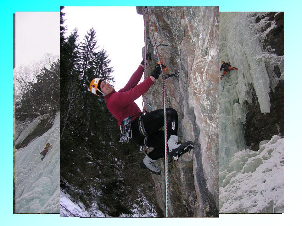 Horské lezení Lezení v nižších velehorách –sportovní vícedélkové cesty –tradiční vícedélkové cesty Lezení ve středních velehorách –skalní lezení –ledové a ledovcové túry –lezení ve smíšeném terénu –bigwalls Lezení v nejvyšších velehorách –expedice