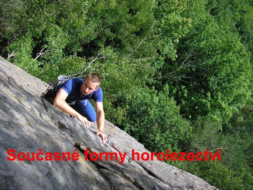 Současné formy horolezectví