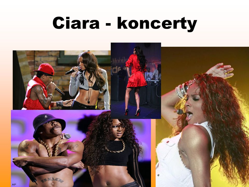 Ciara - koncerty