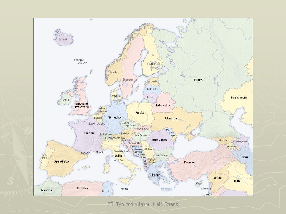 Politické a hospodářské rozdělení ► V Evropě je dnes více něž 40 nezávislých států.