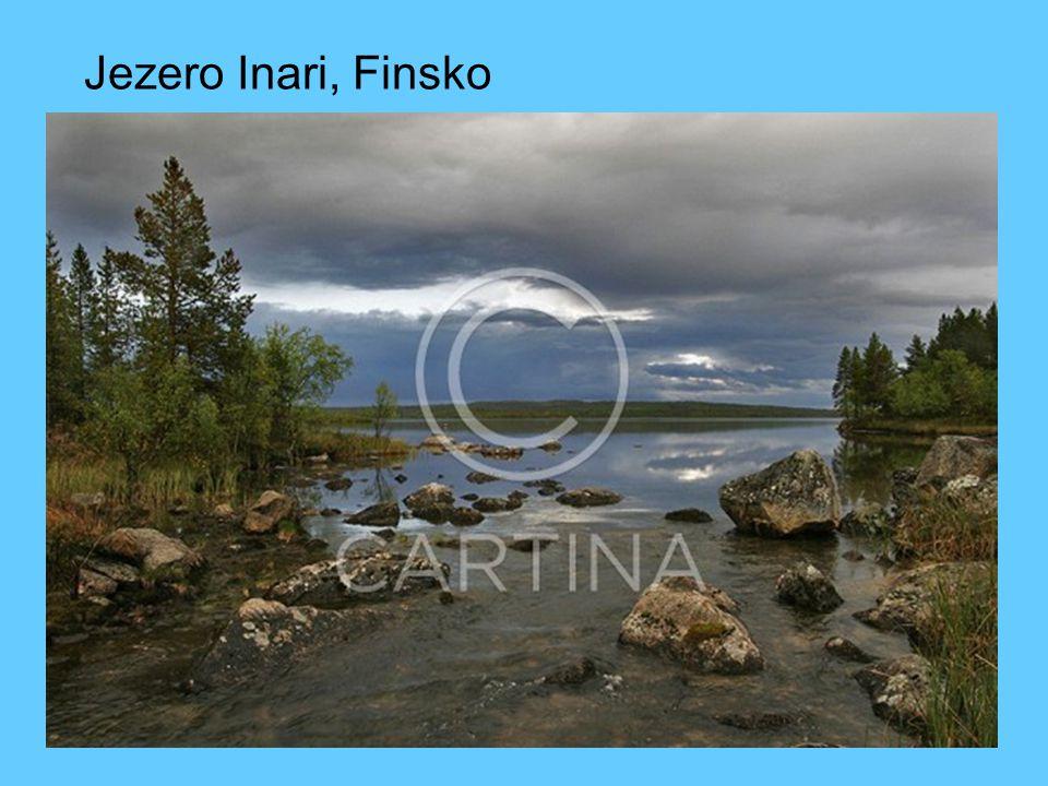Jezero Inari, Finsko