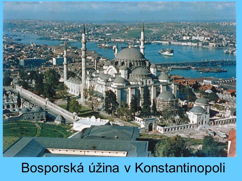 Bosporská úžina v Konstantinopoli