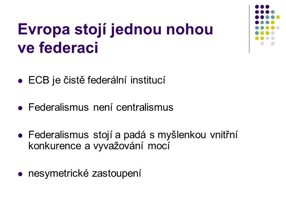 Eurozóně schází ministerstvo financí větší centrální rozpočet společný dluhopis