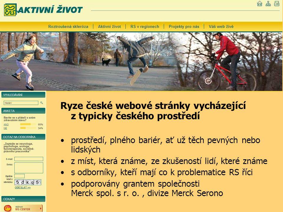Ryze české webové stránky vycházející z typicky českého prostředí prostředí, plného bariér, ať už těch pevných nebo lidských z míst, která známe, ze z
