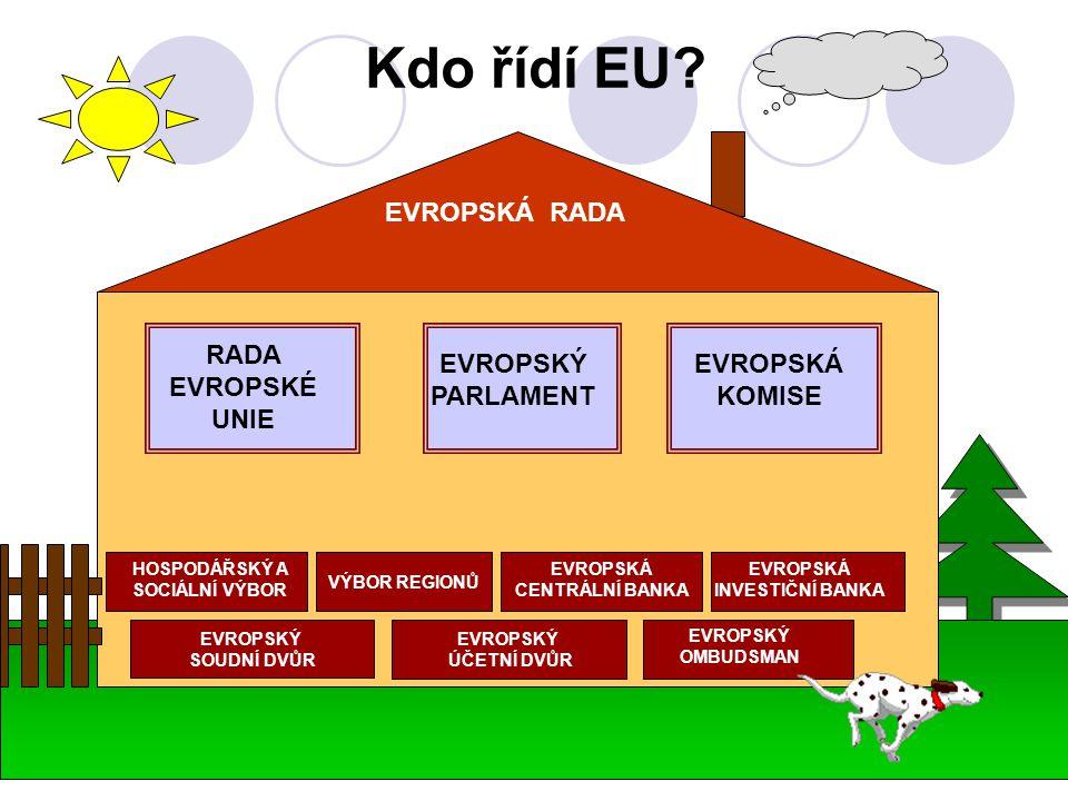 Kdo řídí EU.