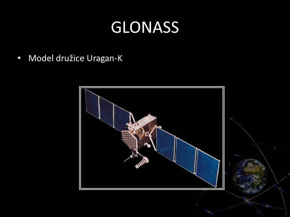 GLONASS Model družice Uragan-K