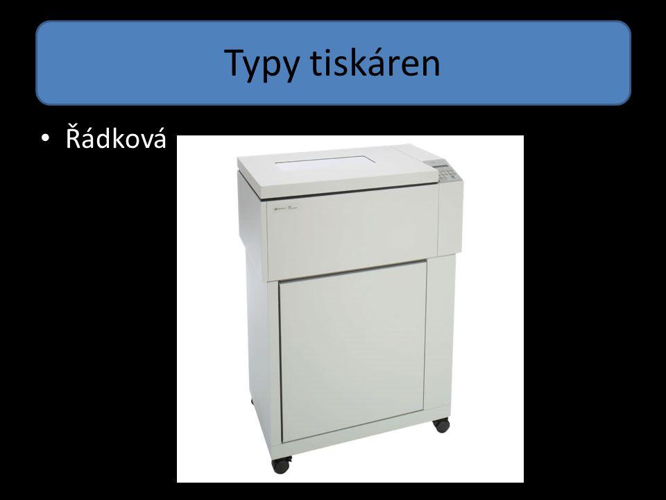 Typy tiskáren LED tiskárna