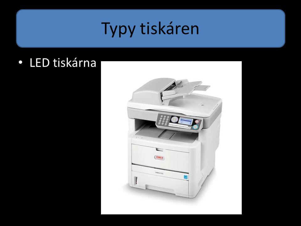 Typy tiskáren 3D tiskárna