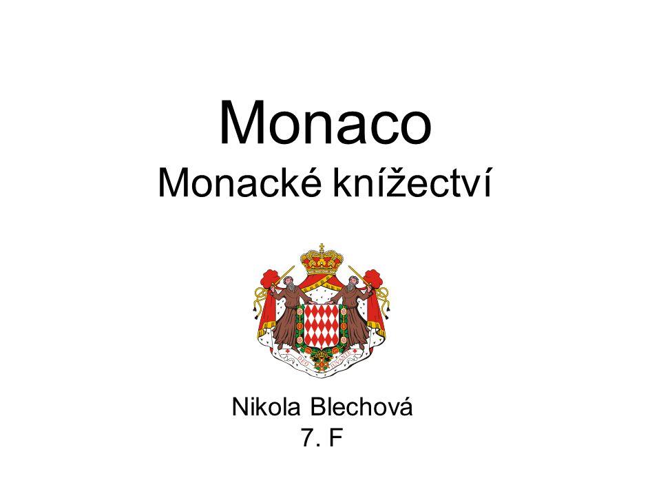 Monaco Monacké knížectví Nikola Blechová 7. F