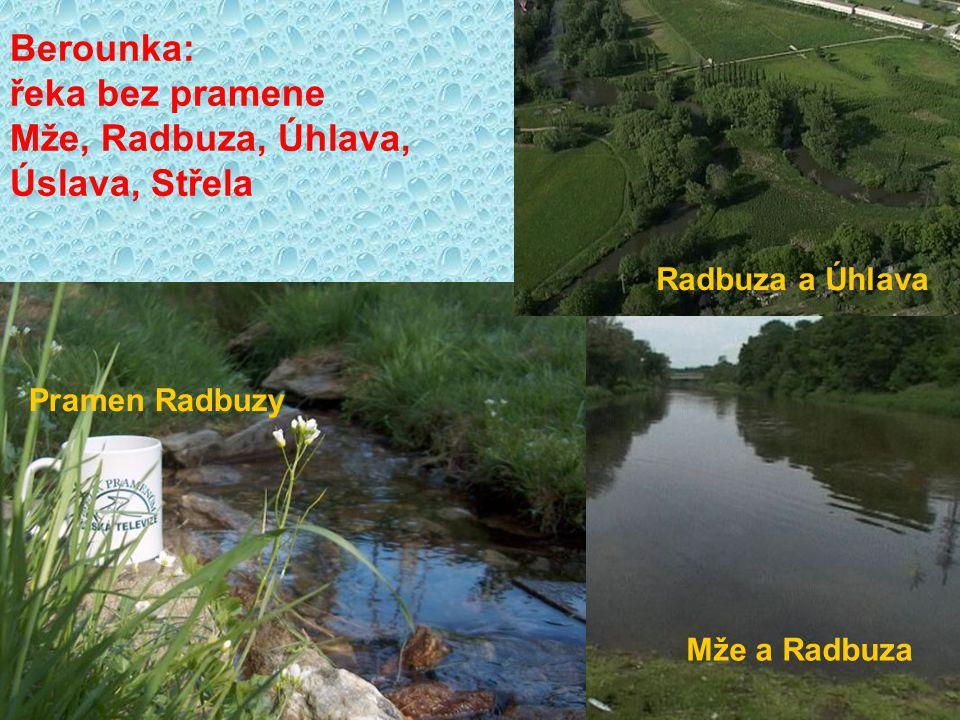 Vltava: Otava, Berounka Lužnice, Sázava Berounka a Úslava Lužnice