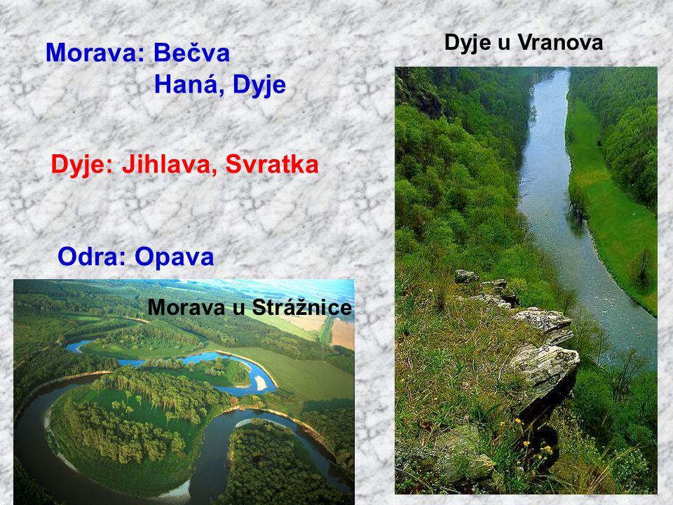 Berounka: řeka bez pramene Mže, Radbuza, Úhlava, Úslava, Střela Mže a Radbuza Pramen Radbuzy Radbuza a Úhlava