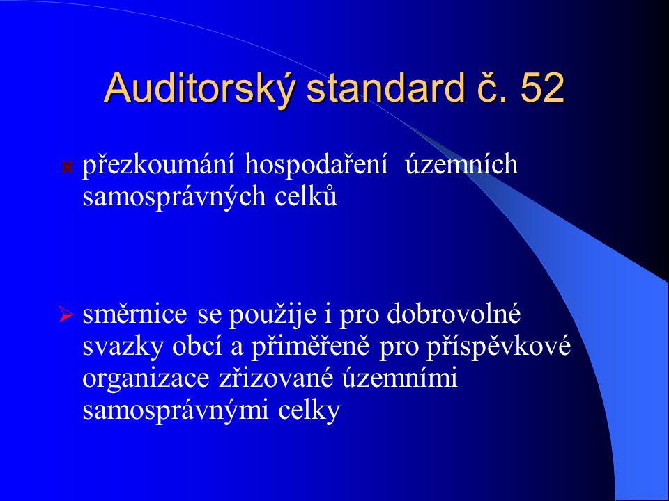 Auditorský standard č.