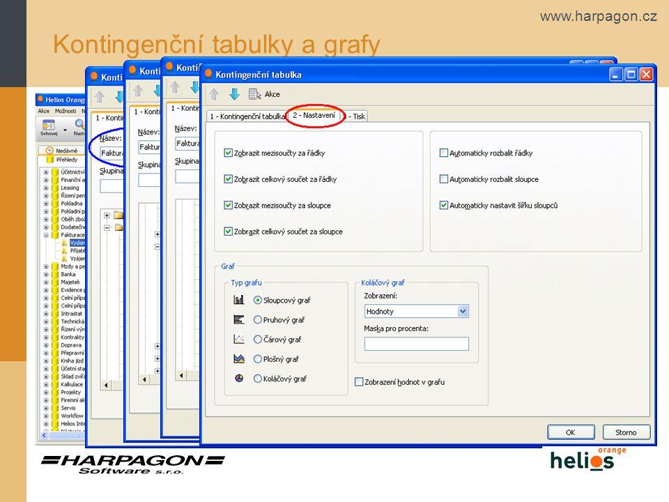 www.harpagon.cz Kontingenční tabulky a grafy Kontingenční tabulka - postup