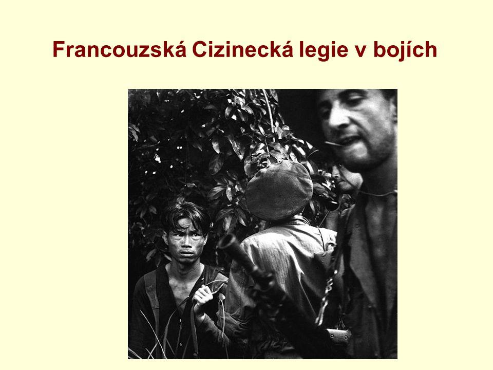 Francouzská Cizinecká legie v bojích