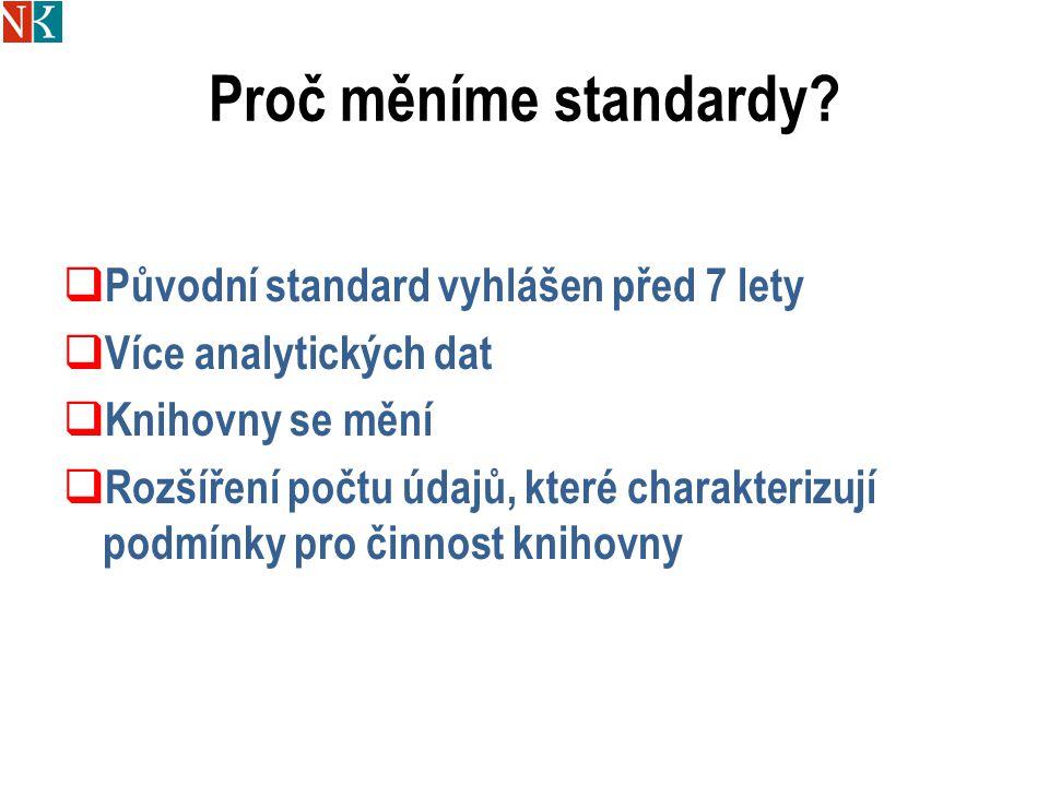 """Cíl standardu VKIS  Definovat, co je to """"dobrá knihovna  Standard jako srovnávací bod  Charakterizovat podmínky činnosti knihovny, které jsou předpokladem pro dobré služby  Motivovat knihovny a jejich provozovatele ke zlepšení knihovny"""