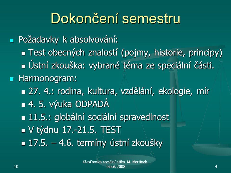 10 Křesťanská sociální etika.M. Martinek. Jabok 200815 Rodinné právo Zákon č.