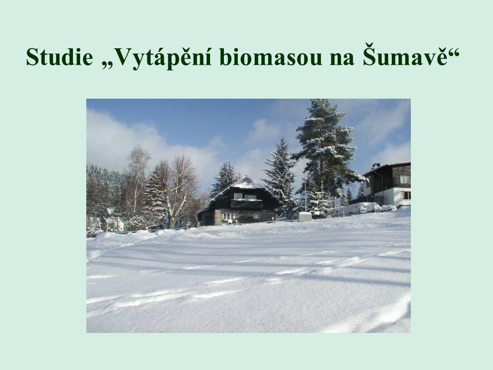 """Studie """"Vytápění biomasou na Šumavě"""