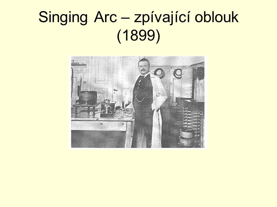 Singing Arc – zpívající oblouk (1899)