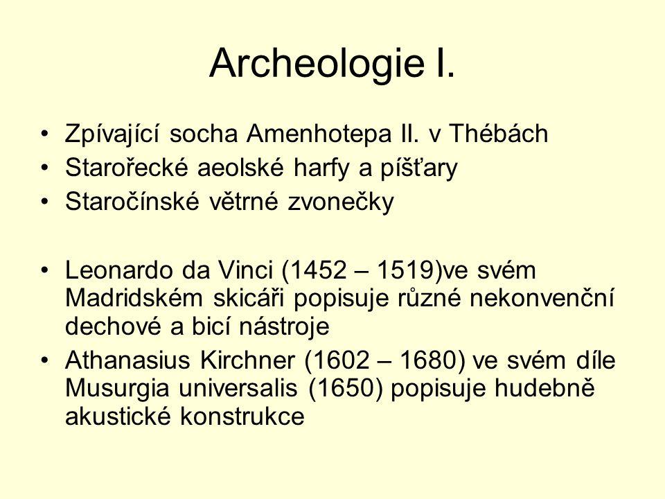 Archeologie I. Zpívající socha Amenhotepa II.