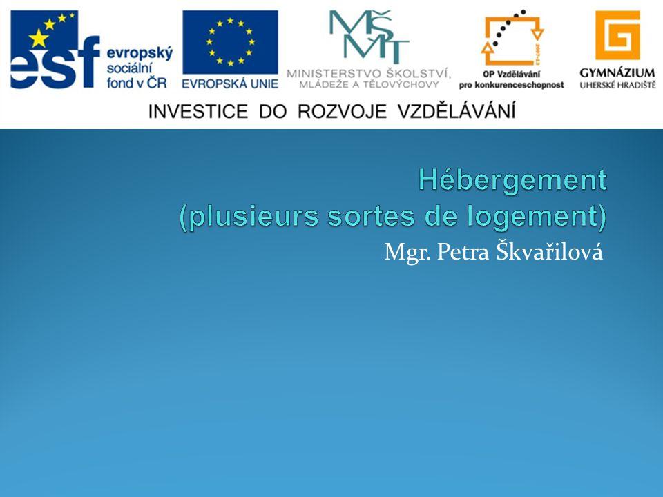 Mgr. Petra Škvařilová