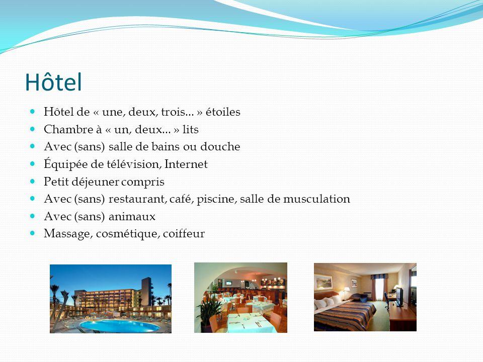 Hôtel Hôtel de « une, deux, trois... » étoiles Chambre à « un, deux...
