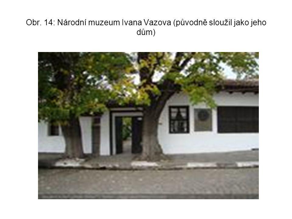 Obr. 14: Národní muzeum Ivana Vazova (původně sloužil jako jeho dům)