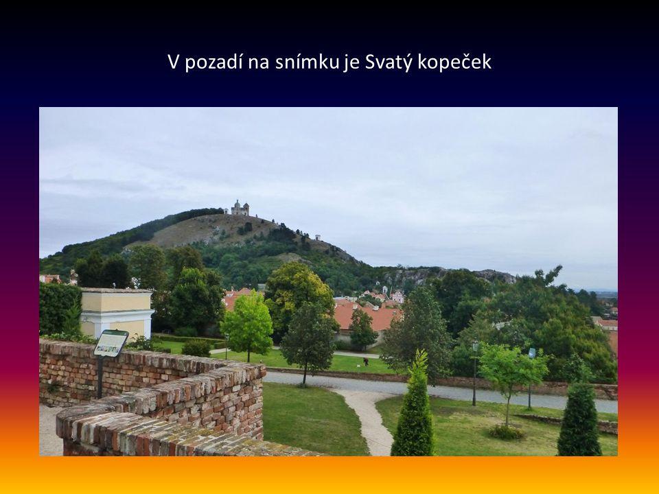 Další pohled na barokní zámek, který se nachází v těsné blízkosti centra města a je spravován Regionálním muzeem v Mikulově.