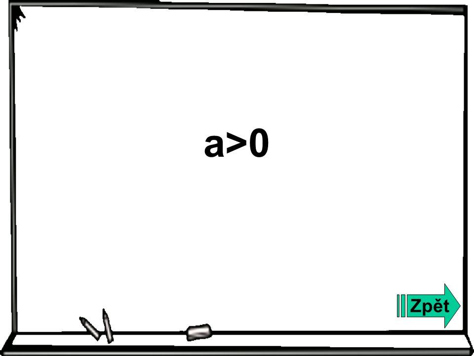 Zpět a>0
