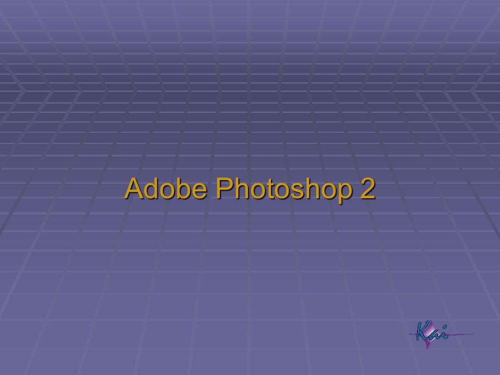 Adobe Photoshop 2