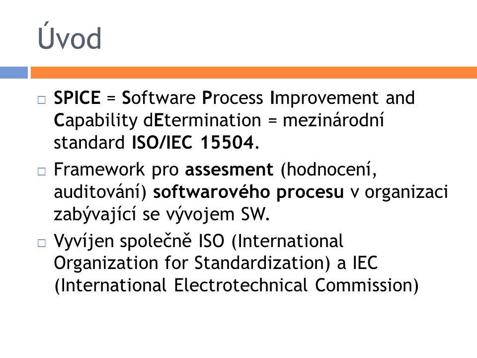 Náplň standardu  Referenční model (model úrovní vyspělosti), vůči němuž jsou audity prováděny.