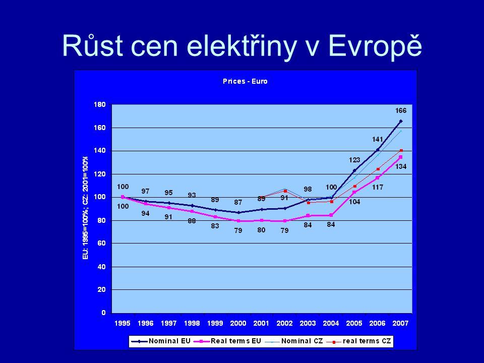 Různé pohledy na řešení nastávající krize Bohaté průmyslové státy (Francie, Skandinávie) – protekcionářská opatření pro zvýhodnění vlastního průmyslu,výstavba energetických zdrojů Bohaté průmyslové státy (Německo, Rakousko, Itálie) – podpora vlastního průmyslu,orientace na dovoz z Východní Evropy, akvizice v tomto smyslu Nové členské státy – většinou bez konzistentní strategie,ovlivňované populismem střídajících se vlád